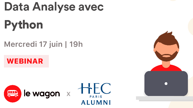 Webinar Data Analytics avec Python - 17 juin
