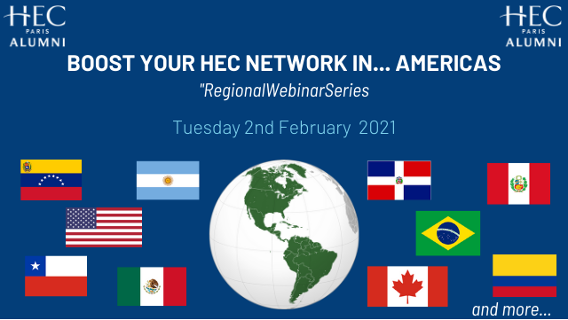 Boost Your HEC Network in... the USA and Americas #RegionalWebinarSeries