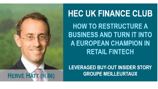 HEC UK Finance Club : Leveraged Buy-Out insider story