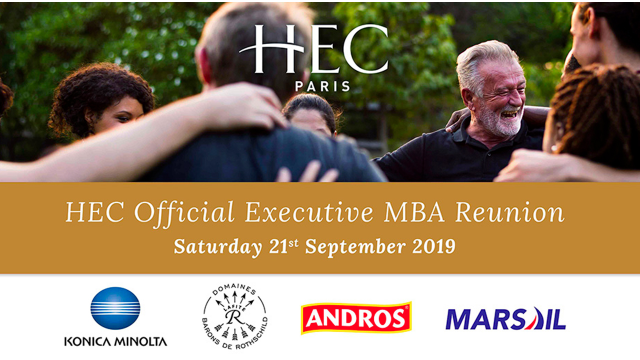 Official HEC Executive MBA Reunion 2019