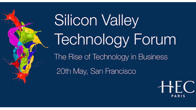 [WEBINAR] Silicon Valley Technology Forum - May 20th - SAVE THE DATE