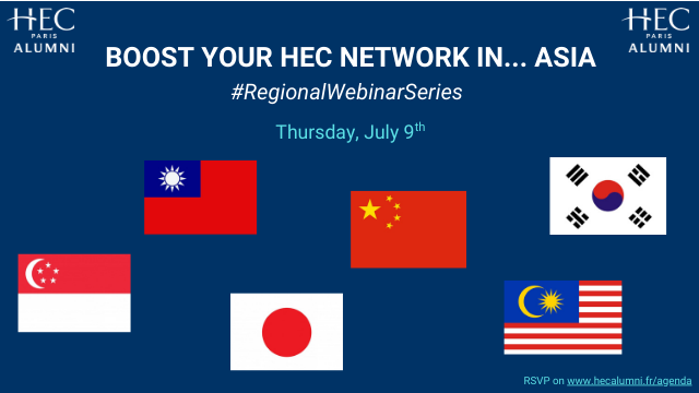 Boost Your HEC Network in... Asia #RegionalWebinarSeries