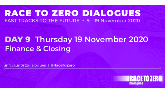Race to Zero Dialogues: Finance Day